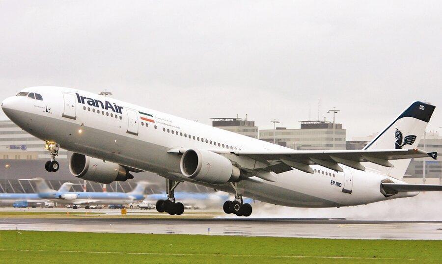 پرواز فوق العاده رم - تهران به تعویق افتاد