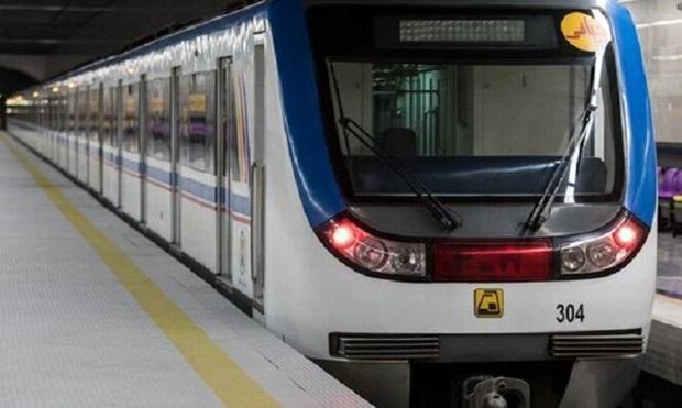افزوده شدن 2 رام قطار مترو تا انتها خرداد به مترو تهران