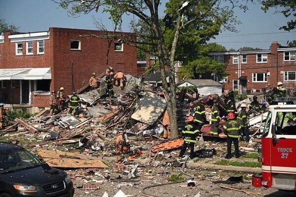 وقوع انفجار در بالتیمور آمریکا، مرگ یک نفر تائید شد
