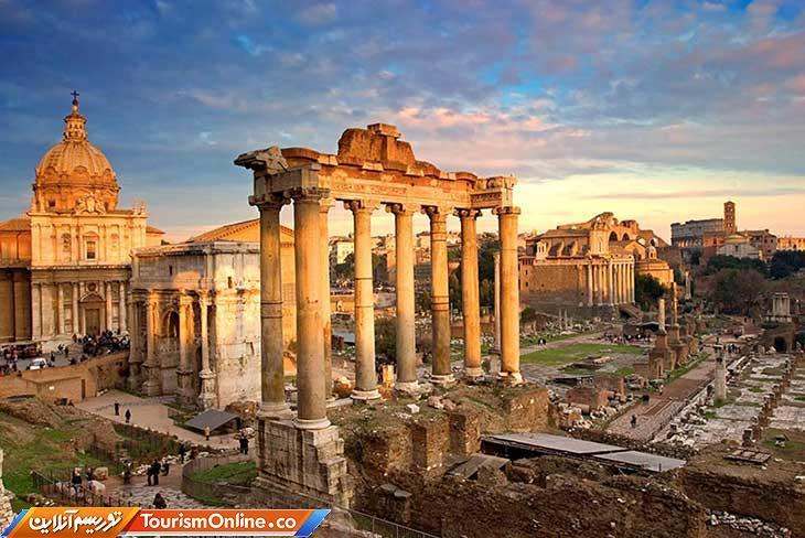 رومن فروم شاهدی بر شکوه امپراطوری روم