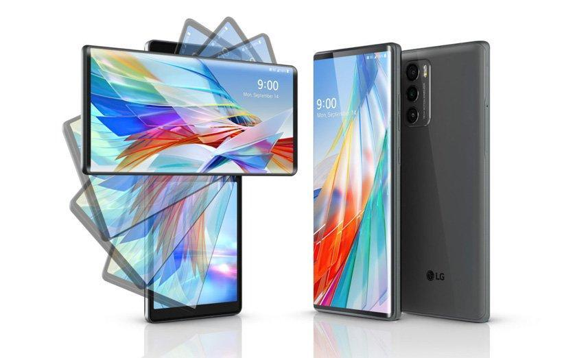 گوشی LG Wing با نمایشگر چرخان رسما معرفی شد