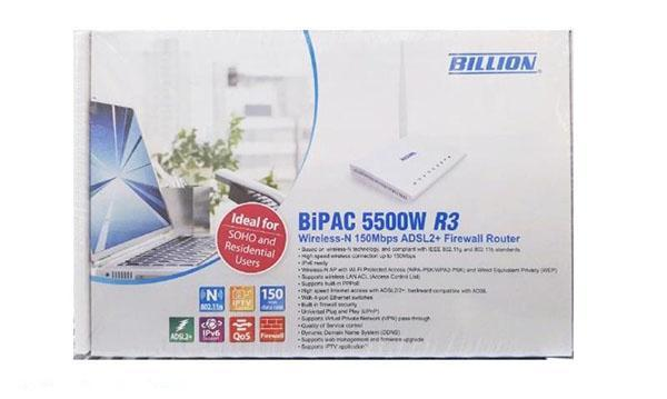 آیا مودم بی سیم بیلیون BiPAC 5500W R3 برای اینترنت خانگی معمولی مناسب است؟