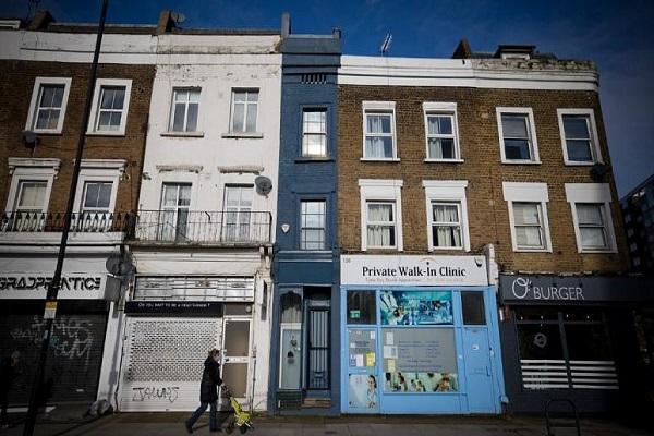خانه قوطی کبریتی در غرب لندن که بیش از 1 میلیون یورو قیمت دارد
