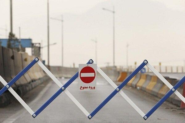 ورودی های مازندران به روی مسافران بسته شد