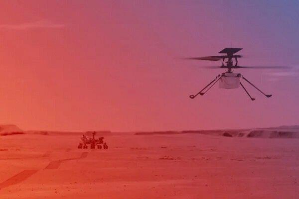 چهارمین پرواز هلیکوپتر مریخی نبوغ امروز انجام می شود