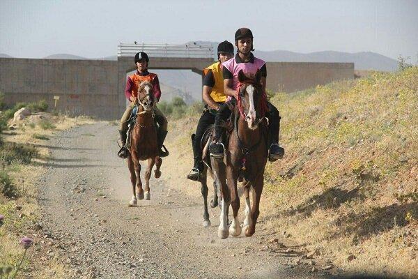 مسابقات اسب سواری استقامت در مشگین شهر برگزار گردید
