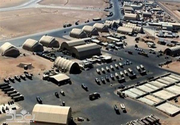 حمله نو راکتی و پهپادی به پایگاه نظامیان آمریکا در عین الاسد و دیرالزور سوریه